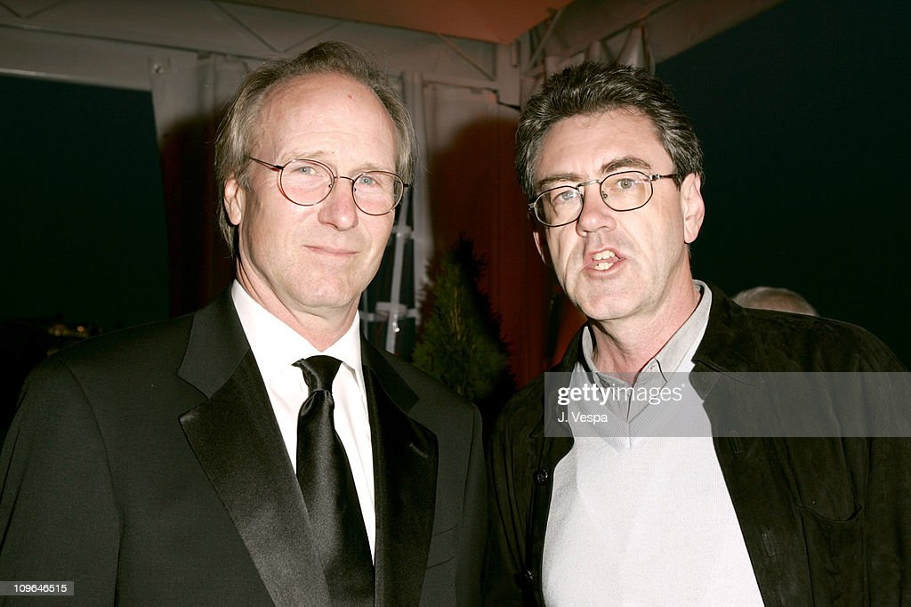 William Hurt and Piers Handling during 2005 Cannes Film Festival - 'A History of Violence' Party at Majestic Beach in Cannes, France.