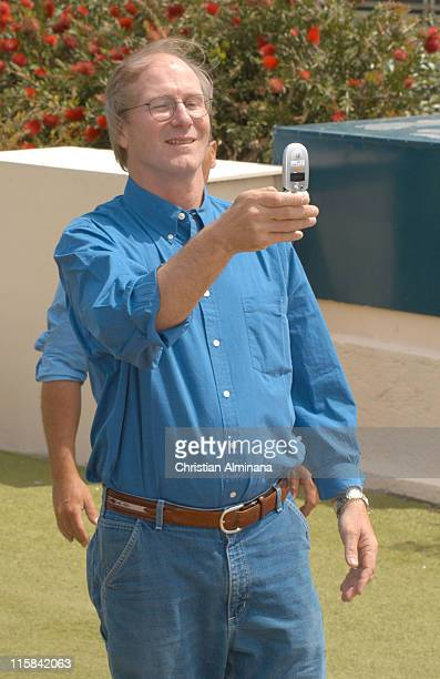 William Hurt during 2005 Cannes Film Festival 'The King' Photocall in Cannes France