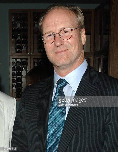William Hurt during 2005 Toronto Film Festival Toro Magazine Hosts 'A History of Violence' After Party at Brant House in Toronto Ontario Canada
