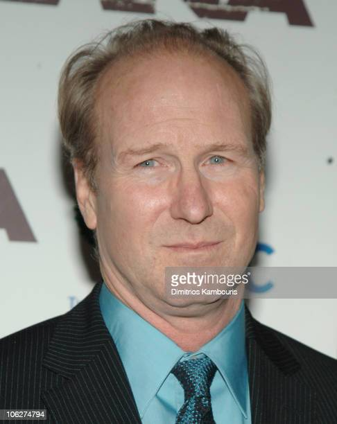 William Hurt during 'Syriana' New York City Premiere Inside Arrivals in New York City New York United States