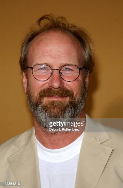William Hurt during 'The Village' New York Premiere Arrivals at Prospect Park in Brooklyn New York United States