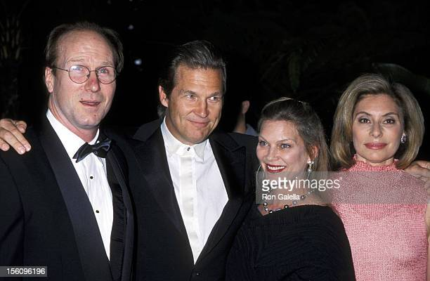 William Hurt Jeff Bridges and wife Susan Geston and Merel Poloway