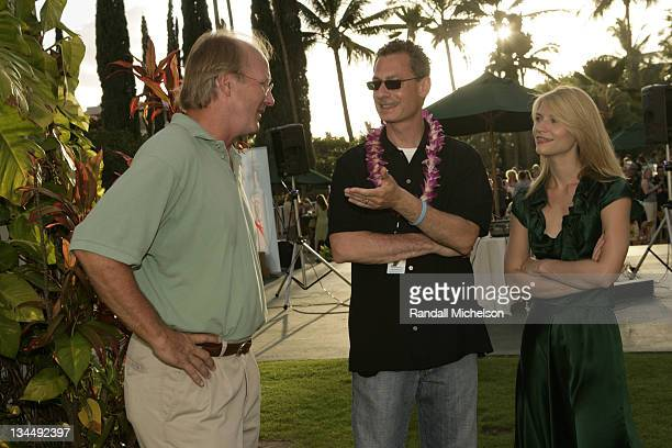 William Hurt Mark Sternberg and Claire Danes during 2007 Maui Film Festival Opening Night Reception at Kealani Resort in Maui HI United States