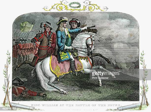 William III King of Great Britain and Ireland at the Battle of the Boyne 1690 William became king in 1689 The following year he defeated supporters...