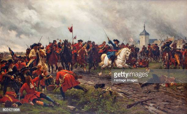 William III of England at the Battle of the Boyne Private Collection