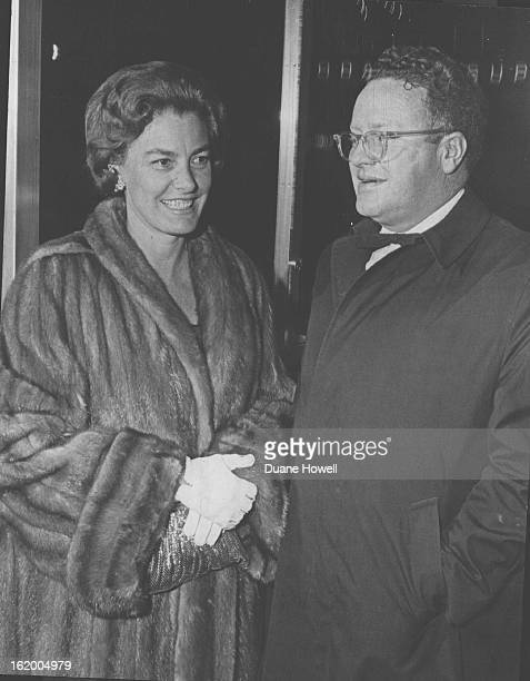 APR 2 1965 MAY 18 1967 William Inge Play Has TwoWeek Run Mr and Mrs Charles Alfred Johnson Jr were in the crowd of firstnighters Thursday at Bonfils...