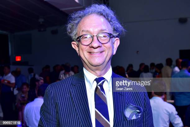 William Ivey Long attends Todd Snyder S/S 2019 Collection during NYFW Men's July 2018 at Industria Studios on July 11 2018 in New York City