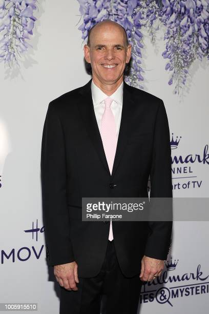 William J Abbott attends the 2018 Hallmark Channel Summer TCA at a private residence on July 26 2018 in Beverly Hills California