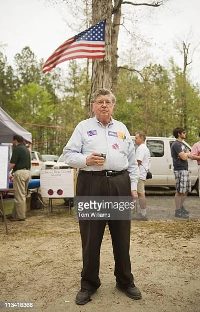 William J. Davis of Richmond, attends the 63rd Annual Shad Planking political rally in Wakefield, Va. Gov. Bob McDonnell, R-Va., was the keynote...