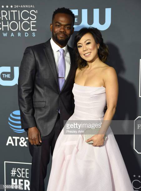 William Jackson Harper and Ali Ahn attend the 2019 InStyle