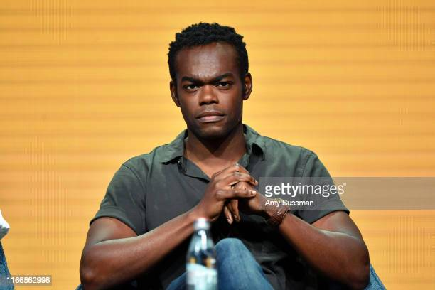 William Jackson Harper of 'The Good Place' speaks during the NBC segment of the 2019 Summer TCA Press Tour at The Beverly Hilton Hotel on August 08...