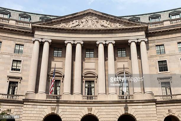 william jefferson clinton federal building in washington dc - environmental protection agency stock photos and pictures