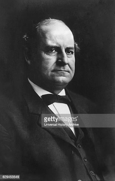 William Jennings Bryan American Politician and participant in the Famous Scopes Trial of 1925 Portrait circa early 1900's