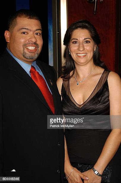 William Jimeno and Allison Jimeno attend World Trade inside arrivals at Ziegfeld Theater NYC on August 3 2006