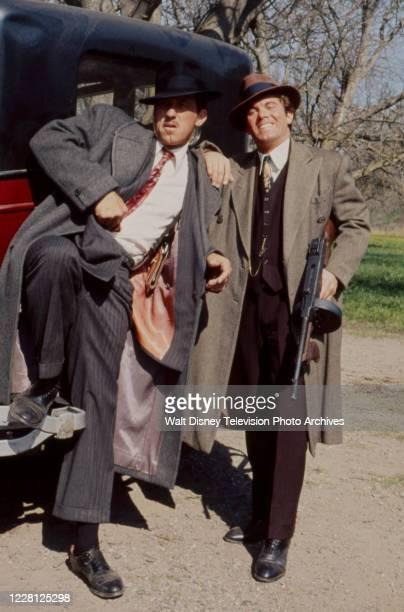 William Jordan, Larry Manetti appearing in the period drama ABC tv movie 'The Kansas City Massacre'.