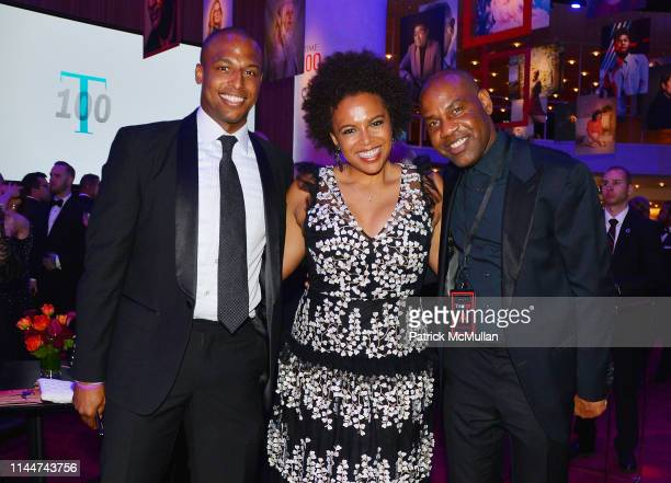 William Jr Bumpus Kirby Bumpus and Unik Earnest attend the Time 100 Gala 2019 at Jazz at Lincoln Center on April 23 2019 in New York City
