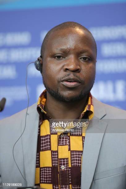 William Kamkwamba attends the press conference for the Netflix film The Boy Who Harnessed The Wind during the 69th Berlinale International Film...