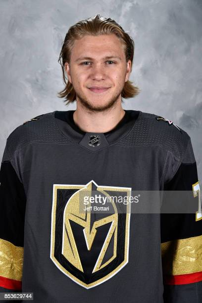 William Karlsson of the Vegas Golden Knights poses for his official headshot for the 20172018 season on September 14 2017 at the City National Arena...