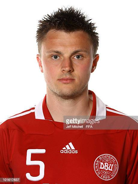 William Kvist of Denmark poses during the official FIFA World Cup 2010 portrait session on June 3 2010 in Johannesburg South Africa