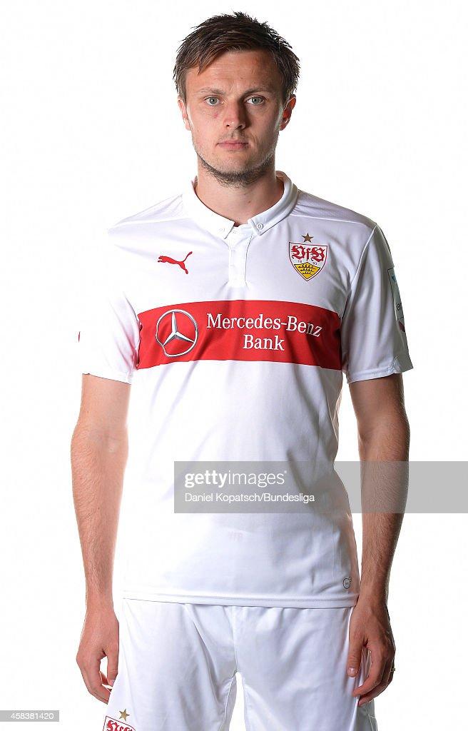 William Kvist poses during the VfB Stuttgart Media Day on July 24, 2014 in Stuttgart, Germany.