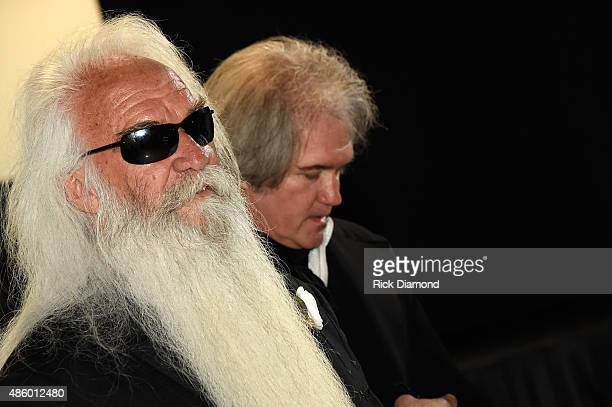William Lee Golden and Son during The Oak Ridge Boys' William Lee Golden Weds Simone De Staley on August 29 2015 at The Rosewall in Nashville...