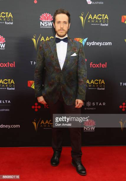 William Lee poses during the 7th AACTA Awards at The Star on December 6 2017 in Sydney Australia