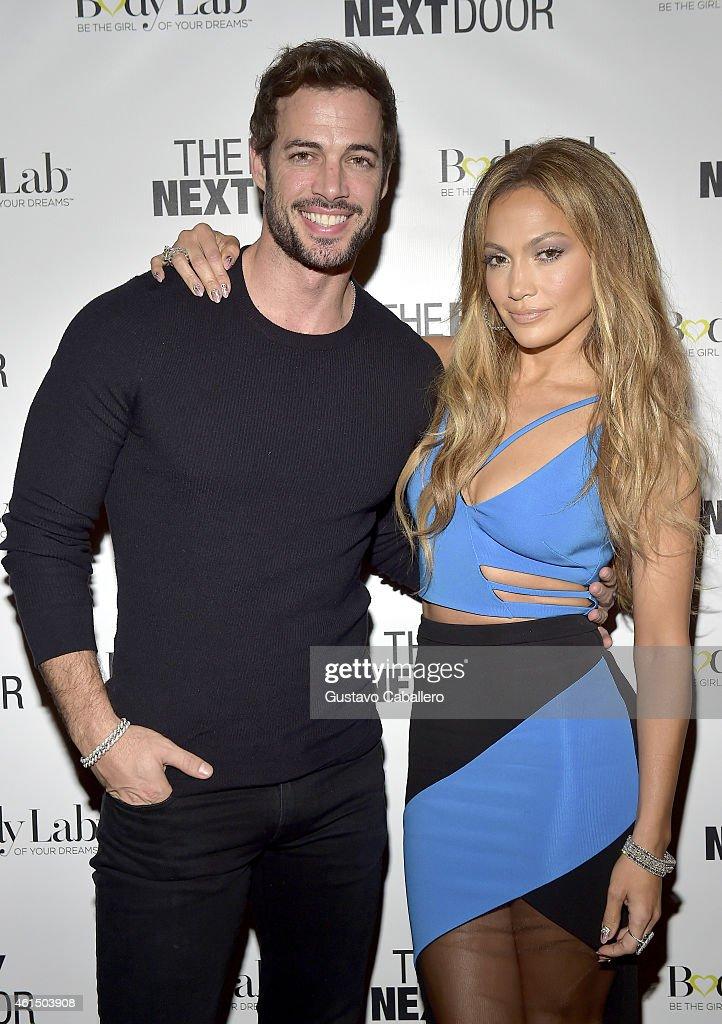 William Levy And Jennifer Lopez Attend U0027The Boy Next Dooru0027 Miami VIP  Screening At