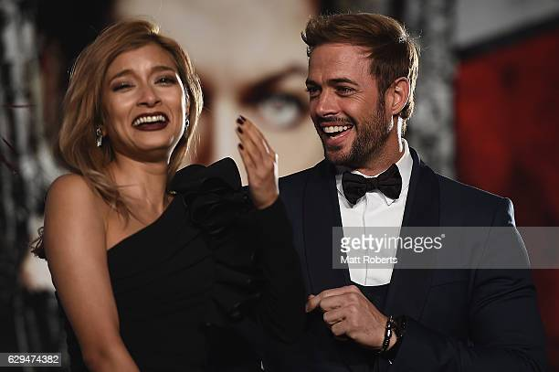 William Levy and Rola attend the world premiere of 'Resident Evil The Final Chapter' at the Roppongi Hills on December 13 2016 in Tokyo Japan