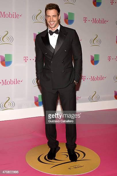 William Levy attends Premio Lo Nuestro a la Musica Latina 2014 at American Airlines Arena on February 20 2014 in Miami Florida
