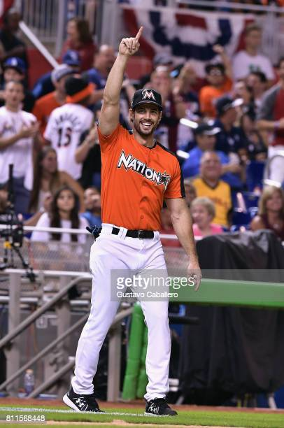 William Levy attends the 2017 MLB AllStar Legends and Celebrity Softball at Marlins Park on July 9 2017 in Miami Florida