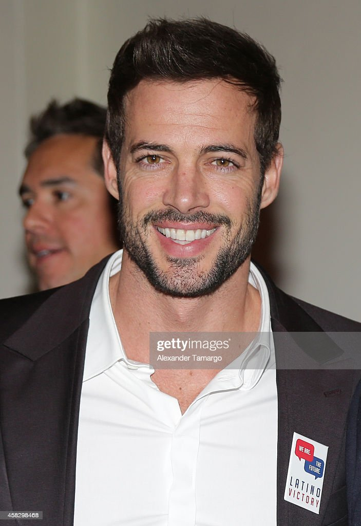 William Levy is seen at the Latino Victory Project Rally at Florida International University on November 2, 2014 in Miami, Florida.