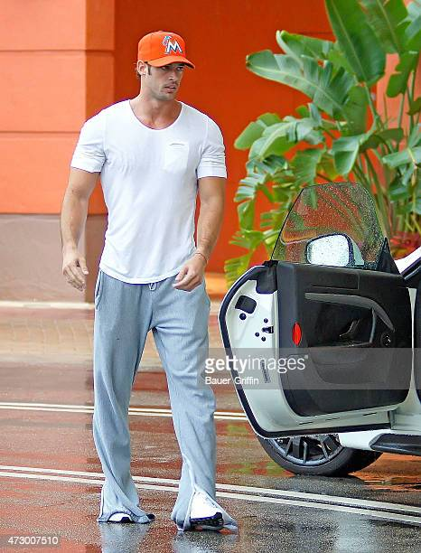 William Levy is seen on August 12 2012 in Miami Florida