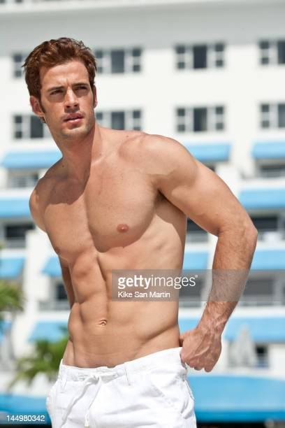 William Levy poses at the Ritz Carlton Miami Beach on May 25 2007 in Miami Beach Florida