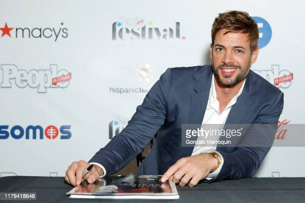 William Levy poses during People en Español 6th Annual Festival to Celebrate Hispanic Heritage Month Day 2 on October 06 2019 in New York City