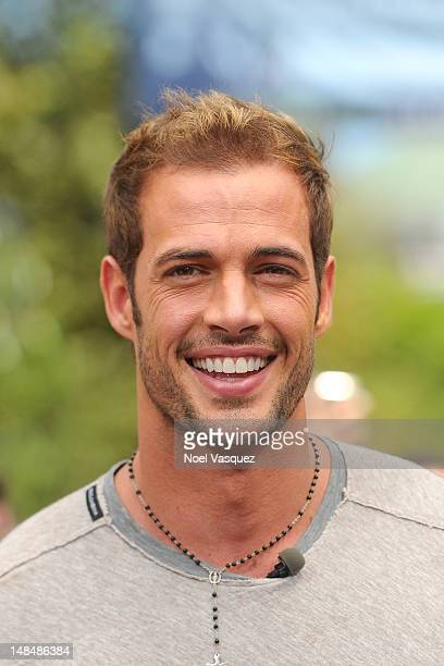 William Levy visits 'Extra' at The Grove on July 17 2012 in Los Angeles California
