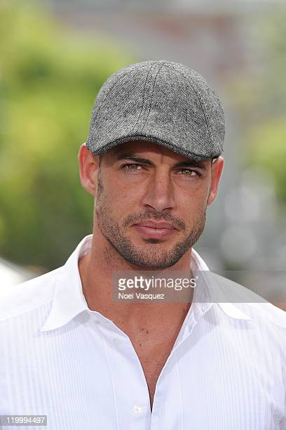 William Levy visits Extra at The Grove on July 28 2011 in Los Angeles California