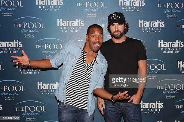 William Lifestyle and Brody Jenner host The Pool after Dark Harrah's Resorts on Saturday June 14 2014 in Atlantic City New Jersey