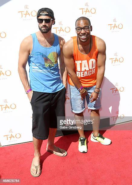 William Lifestyle and television personality Brody Jenner arrive at the Tao Beach Season Preview at Tao Beach at The Venetian Las Vegas on April 4...