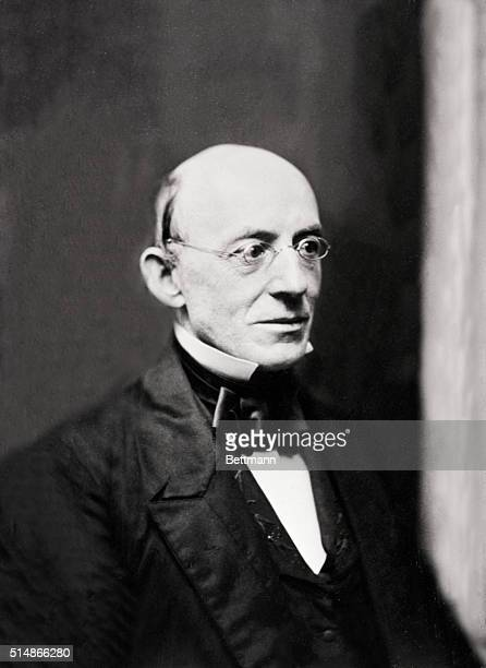 William Lloyd Garrison American abolitionist Founded the Liberator Famous antislavery journal From an early daguerrotype made in Boston