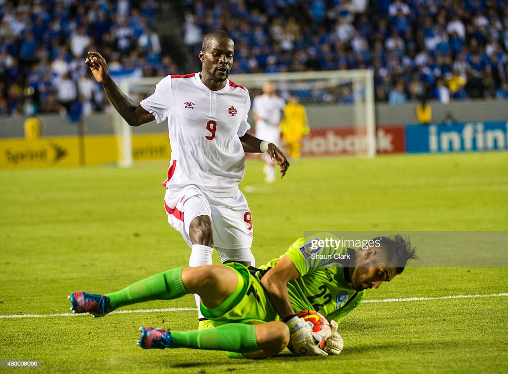2015 CONCACAF Gold Cup - Group B - El Salvador v. Canada : News Photo