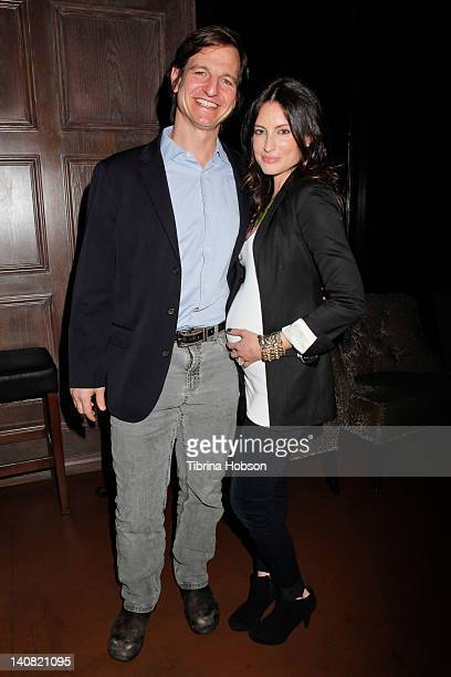 William Mapother and Samantha Gutstadt attends the screening of 'Kile Shay' on March 6 2012 in Los Angeles California