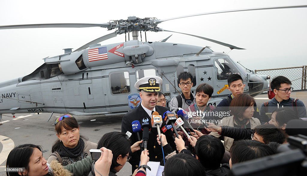 HONG KONG-US-MILITARY-DIPLOMACY : Fotografía de noticias