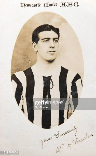 William McCracken of Newcastle United pictured on a postcard circa 1910 Irish full back McCracken made 377 appearances and served United between...