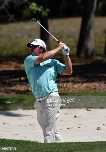 William McGirt during the final round of the RBC Heritage Presented by Boeing Golf Tournament on April 16 at Harbour Town Golf Links in Hilton Head...