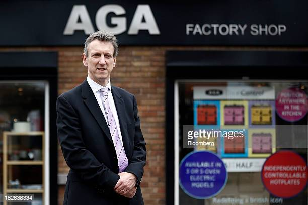 William McGrath chief executive officer at AGA Rangemaster Plc poses for a photograph at the company's plant in Telford UK on Tuesday Oct 1 2013...