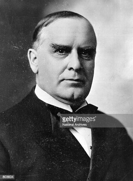 William McKinley twentyfifth President of the United States serving from 1897 to 1901