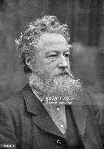 William Morris English socialist craftsman and poet Arts and Crafts Movement