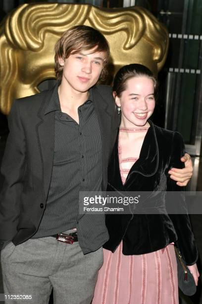 William Moseley and Anna Popplewell during British Academy Children's Film Television Awards 2005 at Hilton Hotel in London Great Britain