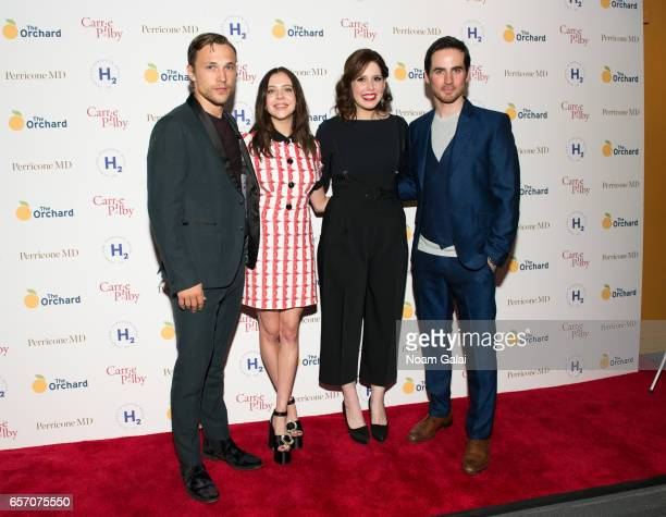 "William Moseley, Bel Powley, Vanessa Bayer and Colin O'Donoghue attend the ""Carrie Pilby"" New York screening at Landmark Sunshine Cinema on March 23,..."