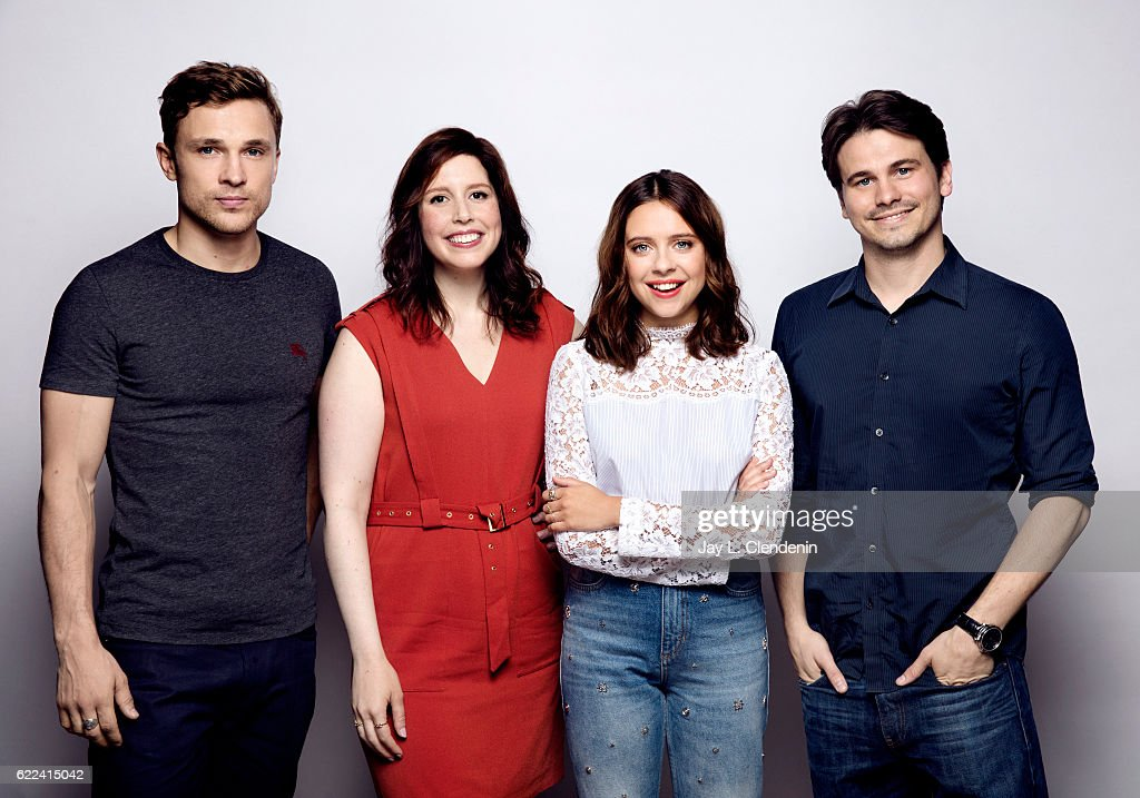 William Mosley, Vanessa Bayer, Bel Powley, and Jason Ritter, of the film 'Carrie Pilby', pose for a portraits at the Toronto International Film Festival for Los Angeles Times on September 9, 2016 in Toronto, Ontario.